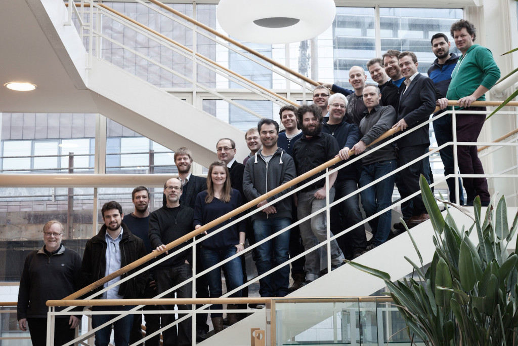 The ALIGNED team at the project kick-off meeting, Dublin, February 2015