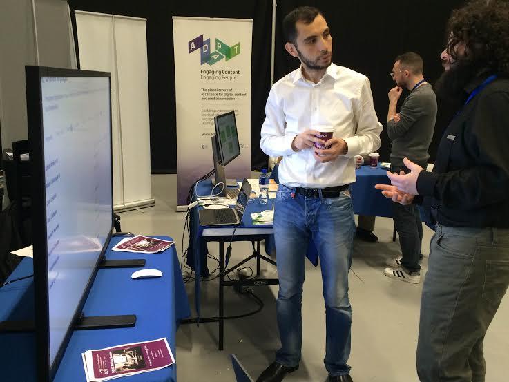 Demonstrating ALIGNED work at Tech Week 2016
